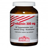 Acerola C-vitamin 300 mg - 90 tyggetabletter