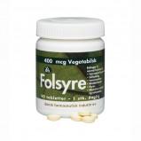 Folsyre 400 mcg - 90 tabletter
