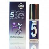 5 days deo feet & body - 32 ml.