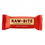 Rawbite Apple Cinnamon Øko frugt og nøddebar 50 g