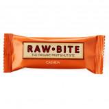 Rawbite Cashew Øko frugt og nøddebar 50 g