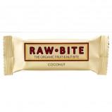 Rawbite Coconut Øko frugt og nøddebar 50 g