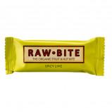 Rawbite Spicy Lime Øko frugt og nøddebar 50 g