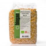 Popcornmajs Økologiske fra Biogan - 1 kg