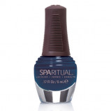 Sparitual Mini-Neglelak himmelblå - 5 ml.