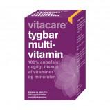 VitaCare Tygbar Multivitamin til voksne 100 tabs
