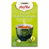 Yogi matcha lemon Green tea Økologisk - 17 breve