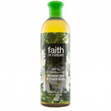 Faith in nature Showergel hamp engrapgræs 400 ml