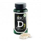 Bidro D3-Vitamin Vegan (90 kap)