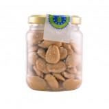 Saltede Mandler Økologiske i glas - 100 gram