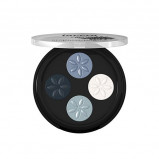 Lavera Eyeshadow Blue Platinum 07 Beautiful mineral quattro (3 g)