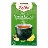 Yogi Green Tea Ginger Lemon Økologisk - 17 breve