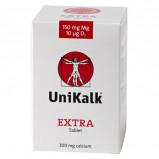 Unikalk Extra m. magnesium og D-vitamin - 140 tab.
