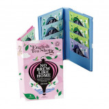 Rejsepakning pink med økologisk te - 8 breve