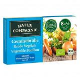 Grøntsagsbouillon Økologisk lavt salt 8x8 gr