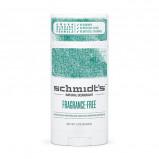 Schmidts Deodorant stick Fragrance Free - 92 gr