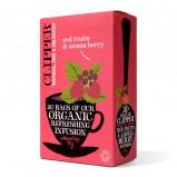 Clipper Røde bær & Aronia bær Te Ø - 20 breve