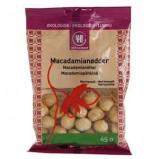 Macadamianødder med havsalt Øko - 65 gram