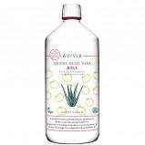 Avivir aloe-vera drik med æble - 1 liter