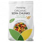 Soja stykker Økologiske fra Clearspring - 200 gram