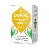 Turmeric gurkemeje kapsler Pukka Øko - 60 stk.
