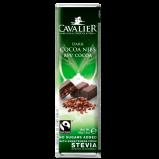 Cavalier mørk chokolade sødet med stevia - 44 gram