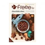 Chokolade stjerner Øko glutenfri - 300 gram
