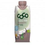 Kokosdrik med kakao Økologisk - 330 ml.