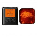 Cayennepeber stødt fra Mill & Mortar Øko - 45 gram