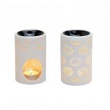 Duftlampe kniplingemønster - 1 stk
