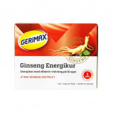 Gerimax Ginseng Energikur - 120 tabletter