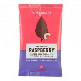 Chokolade Raspberry & cashew Loving Earth Ø - 30 g