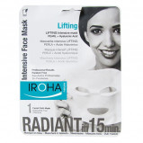 Iroha tissue ansigtsmask lifting pearl - 23 ml.