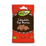 Gojibær med rå chokolade Snack pack Øko - 28 gram