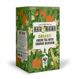 Vareprøve - Heath & Heather Organic Green Tea & Orange Blossom - 1 br.