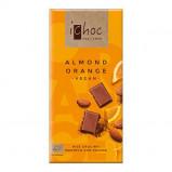Ichok almond orange vegansk øko chokolade - 80 gr