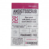 Vareprøve - Ecooking Ansigtsscrub - 2 ml