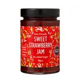 Jordbærmarmelade med Stevia - 330 g
