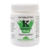 K vitamin 150 ug - 100 tabletter
