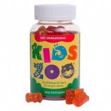 Kids Zoo Multivitaminer med jordbærsmag - 60 tab.