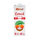 Kokosmælk uden sukker Ecomil Øko - 1 liter