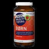 Livol Multi Total børn Jordbær - 175 tabletter