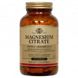 Magnesiumcitrat 200 mg. fra Solgar - 120 tabetter