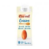 Mandelfløde cuisine Økologisk Ecomil - 200 ml.