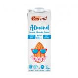 Mandeldrik uden sukker med calcium Ecomil Ø - 1 l