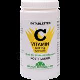 Natur Drogeriet C Syreneutral 500 mg - 150 tab