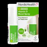 Dlux 3000 D3 vitaminoral spray NordicHealth 15 ml