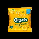 Organix Melty Sweetcorn Rings - 20 gram