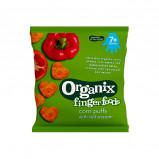 Organix peberfrugthjerter fra 7 mdr. Øko - 20 gram