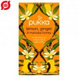 Vareprøve - Pukka Lemon, Ginger & Manuka honey te